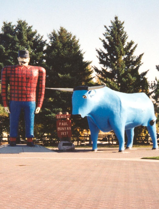 Paul Bunyan and Blue Ox - Source Wikipedia