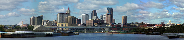 St. Paul Skyline - Credit to NVJ on Flickr