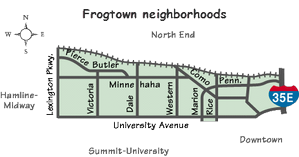 Frogtown Map