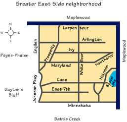 Greater East Side Map