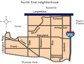 North End Map (includes S. Como)