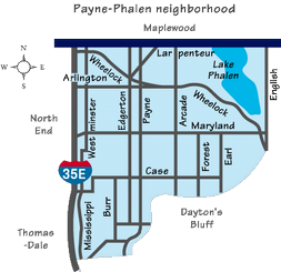 Payne Phalen Map