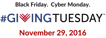 Donate on #Giving Tuesday!