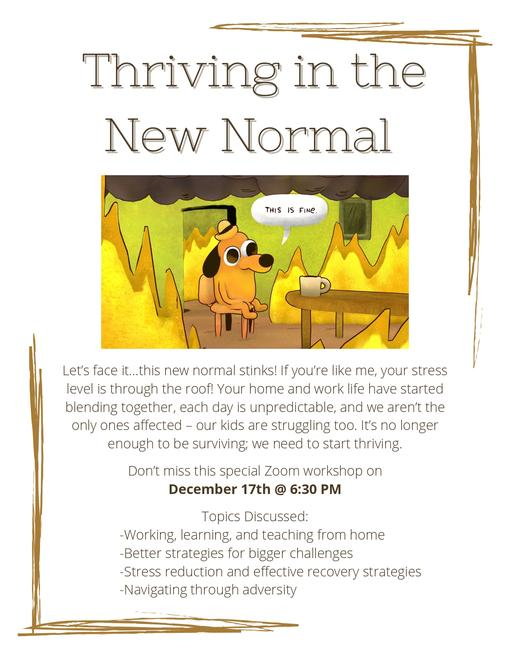 The posted image New Normal Flyer.jpg